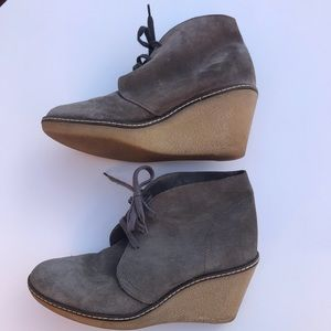 J Crew Macalister wedge boots 04326 size 6
